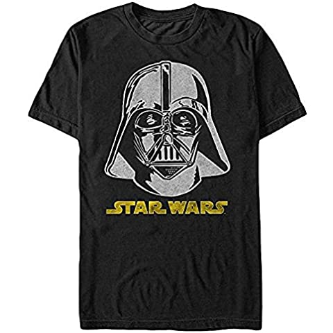 Star Wars Darth Vader Helmet Logo Mens Graphic T Shirt