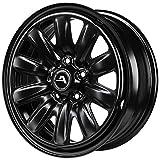 CERCHI IN FERRO KFZ ALCAR HYBRIDRAD VW 6X15 5X100 ET38 57,1 Colore: BLACK (Omol. ECE 124R)