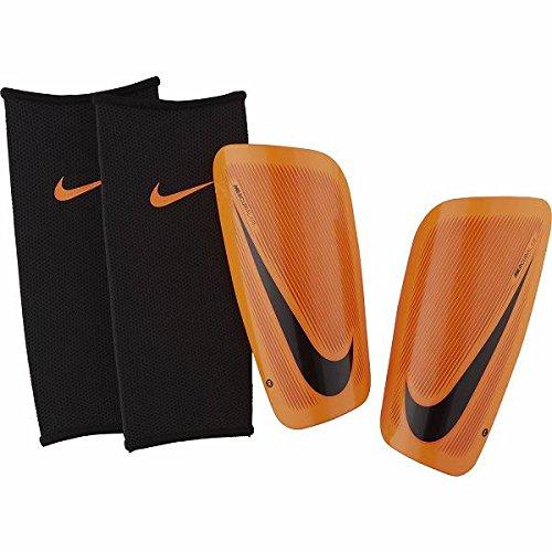Nike Herren Mercurial Lite Schienbeinschoner, Total Orange/Hyper C rimson/Black, Gr. XL