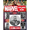 Marvel Super Heroes & Villains Dots Lines Spirals Coloring Book: Fun for Adults And Teens Fan Of Marvel Super Heroes & Villai