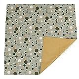 Zicac Grande tappeto stampato Lavabile .Protezione della copertura per i bambini, Copertura per il di sotto del seggiolone quando i bambini mangiano