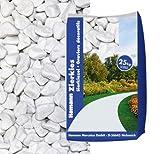 Hamann Marmorkies Carrara 12-16 mm 25 kg - Mit kreativen Ideen kann jeder Garten durch Zierkies und Naturstein aufgewertet und edel gestaltet werden.