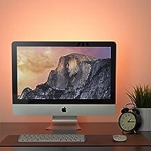 Cinta LED 50cm USB blanco cálido Eclairage pantalla bar cama mueble ordenador