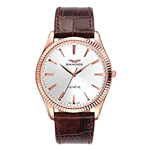 Reloj Suizo Sandoz Caballero 81359-90 Classic & Slim Collection