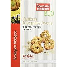 Germinal Galletas Integrales de Avena Sin Gluten - Paquete de 8 x 250 gr - Total
