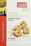 Germinal Galletas Integrales de Avena Sin Gluten - Paquete de 8 x 250 gr - Total: 2000 gr