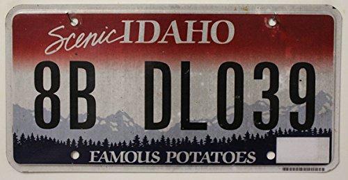 USA Nummernschild Scenic IDAHO ~ US Kennzeichen License Plate ~ Blechschild