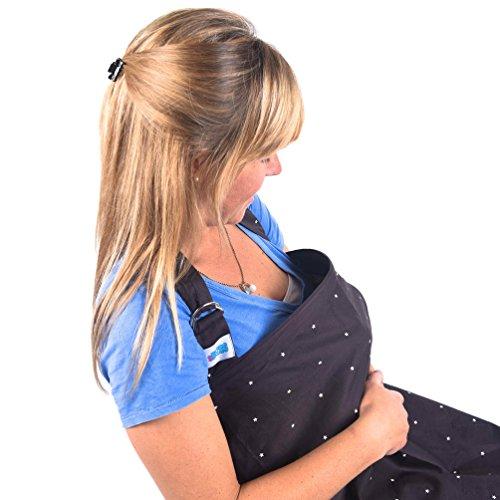 Infermieristica Copertura L'allattamento , Nutrire discreto in pubblico, il 100% di cura di qualità copre con disossato scollatura, sciarpa per un bambino felice