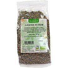 Biospirit Lavanda en Flor de Cultivo Ecológico - 15 Paquetes de 130 gr - Total: 1950 gr