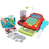 PlayGo Caja registradora eléctrica con Accesorios, ...