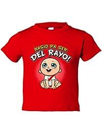 Camiseta niño nacido para ser del Rayo Vallecano fútbol