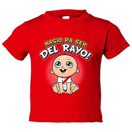 Camiseta niño nacido ser Rayo Vallecano fútbol -