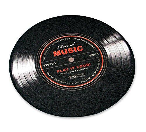 Felpudos Música mediano en forma de LP/Vinilo