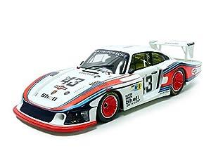 CMR-Miniatura de Coche Porsche 935/78Moby Dick Le Mans 1978(Escala 1/12, cmr12003, Color Blanco/Azul/Rojo