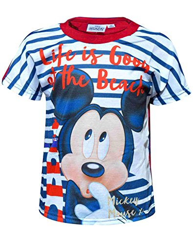 Disney Jungen Mickey Mouse Print Top T-Shirt Alter 3 Jahre - Mickey Mouse T-shirt Top