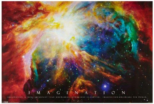 1art1, 48900, Poster, motivo: Motivation - Imagination, 91 x 61 cm
