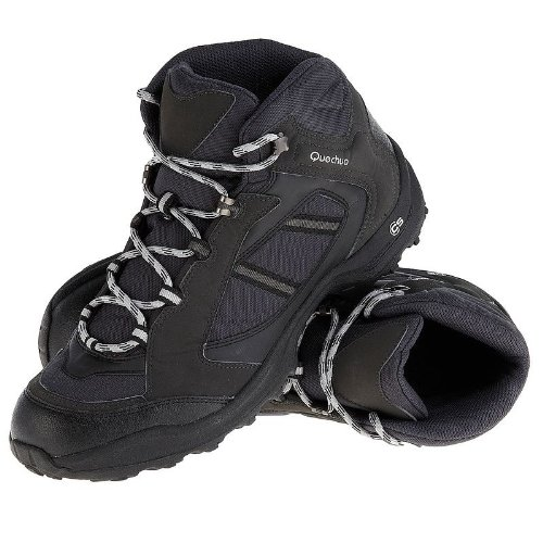 Quechua Forclaz 50 Shoes, 7 UK (Black)