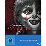 Annabelle (2014) - Exklusiv Limited Steelbook Edition ( 2000 Stk, Regionfree, Uncut) (Deutsch, Englisch u.a) Blu-ray
