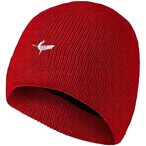 SealSkinz - Gorro impermeable, color rojo - rosso, tamaño S/M