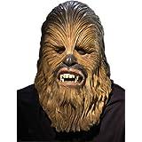 Máscara Chewbacca Star wars? lujo adulto - Única