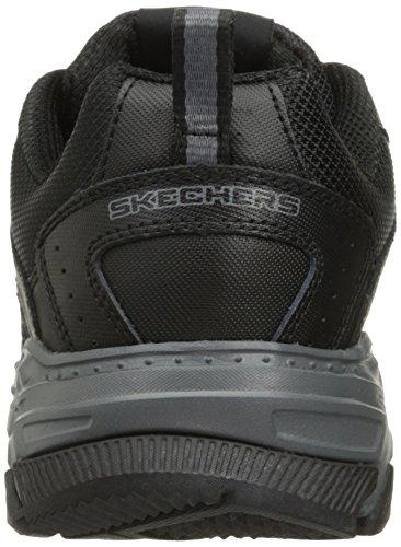 Skechers Stamina Plus-Rappel Cuir Baskets Noir