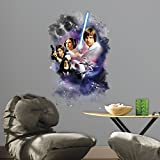 Thedecofactory RoomMates Giant Aufkleber Star Wars Classic Graphic (89x 58cm)–Teen: Teen Stil