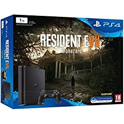 PlayStation 4 Slim (PS4) 1TB - Consola + Resident Evil VII + ...