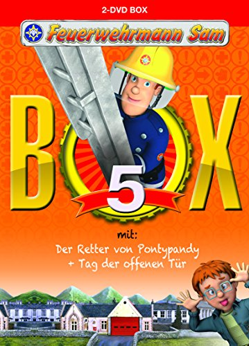 feuerwehrmann sam die komplette staffel Feuerwehrmann Sam - Box 5 [2 DVDs]