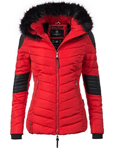Marikoo Damen Winter Jacke Steppjacke Mamba vegan hergestellt