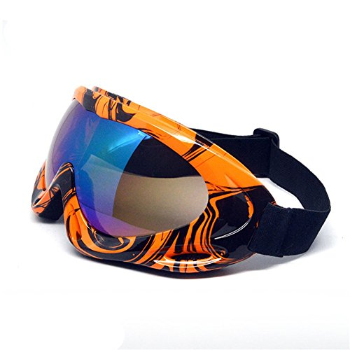 Z-P Unisex Outdoor Sports Style Motorcycle Wind Dustproof Ski Equipment Snowboard Cycling Hiking Goggles UV400
