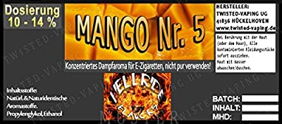 Twisted Hellride Aroma Mango No.5 von Twisted Vaping