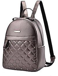 WTUS Mujer nuevo estilo de carteras y mochilas de Pu Bolsas para Mujer