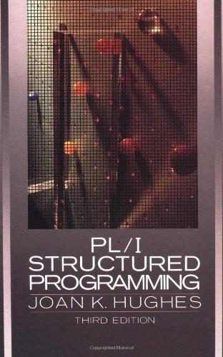 PL/1 Structured Programming por Joan K. Hughes
