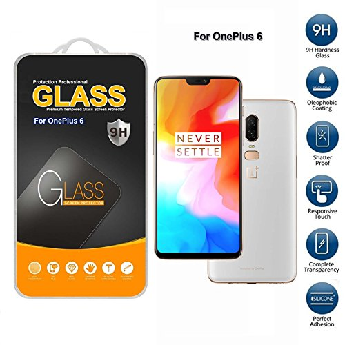 Price comparison product image For Unbranded OnePlus 6 OnePlus 6 Tempered Glass Screen Protector (Only For This Phone)