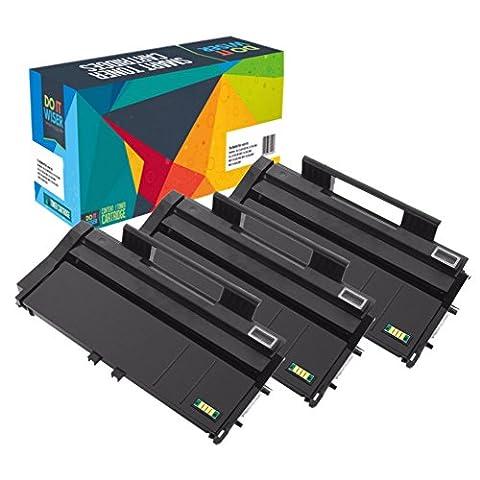 Do it Wiser Cartouche de Toner compatible pour Ricoh Aficio SP100e SP100 SP100SU 100SF SP112 SP 112SU 112SF 3-Pack