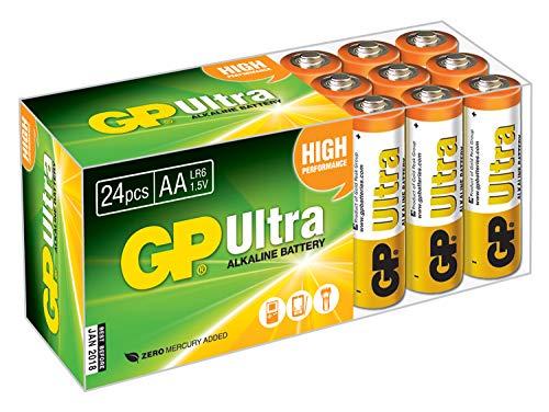 GP Ultra AA pilas alcalinas (Pack de 24)