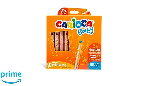 Carioca Car-42818/3/en 1/b/éb/é Crayons 10/pi/èces