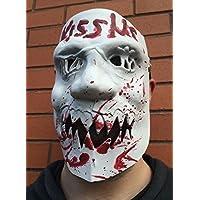 Kiss Me Latex Maske Halloween Kostüm The Purge 3 Kostüm