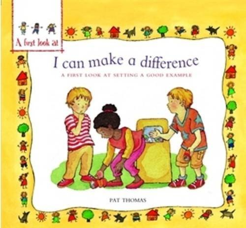 I can make a difference : a first look at setting a good example