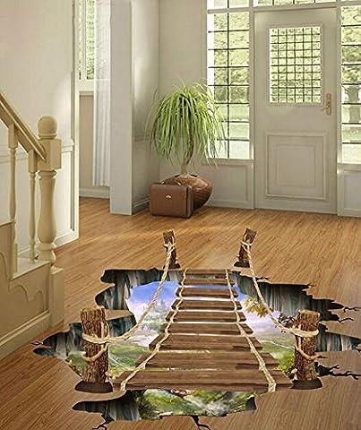3D selbstklebend Wandbild Arts Aufkleber Wand Aufkleber für Zimmer Treppe Kinderzimmer Decor Deckenleuchte Boden Aufkleber