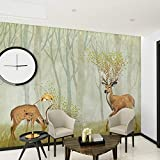 Worryd HD Drucken Poster Bild 3D Geprägte Tier Wandbild Fototapeten für Kinder Schlafzimmer Wohnzimmer TV Hintergrund Wandkunst Dekor Minion Wallpaper, G