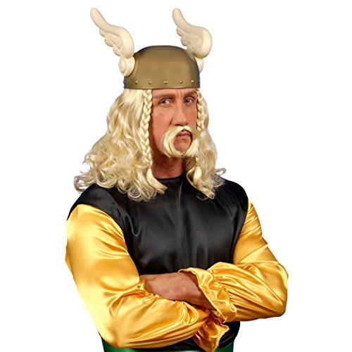 Asterix Gallier Helm Karneval Helme Gallierhelm Asterixhelm Flügel Flügelhelm Gauloises Fasching Karneval Kopfbedeckung Kostüm (Kostüm Asterix Der Gallier)