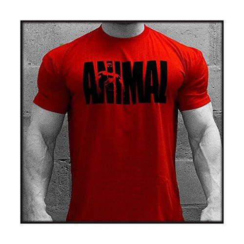Animal - Camiseta Animal Roja - M-Mediana