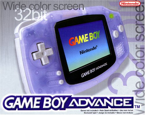 game-boy-advance-konsole-clear-blue