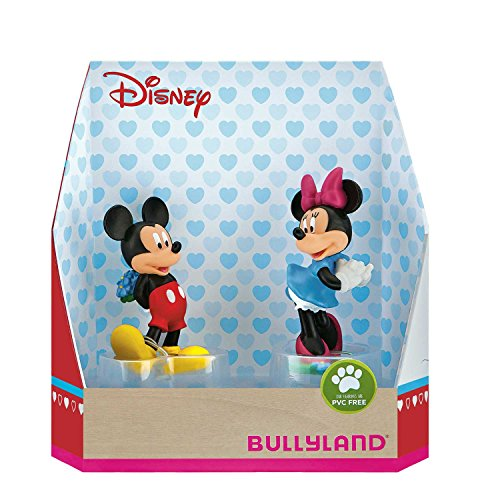 Bullyland Disney Gift Box with 2 Figures Micky Valentine 8-10 cm Mini