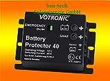 Votronic Battery Protector 40 - 12V Batteriewächter / Batterie, Akku Überwachung von bau-tech Solarenergie GmbH
