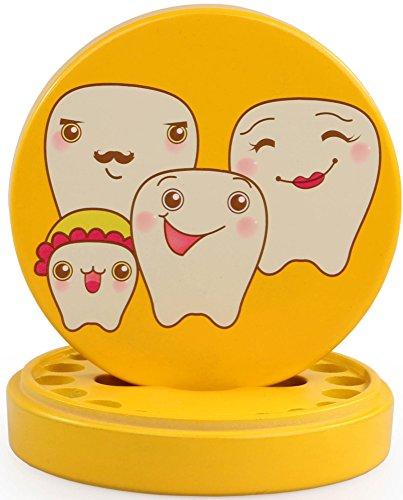 Kindermilch - Zahnbox Baby Souvenir Kinder Geschenk , Yellow
