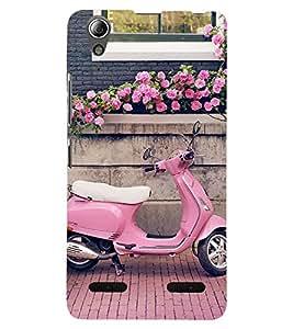 SASH DESIGNER BACK COVER FOR LENOVO A6000