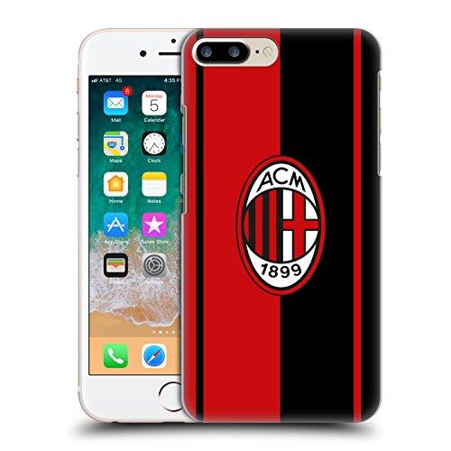 Head Case Designs Ufficiale AC Milan Rosso E Nero 2018/19 Cresta Cover Retro Rigida per iPhone 7 Plus/iPhone 8 Plus