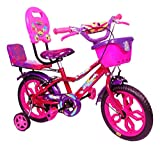 #6: NY Bikes Steel Delux 14T Kids' Bicycle, 14 Inches (Pink and Purple)
